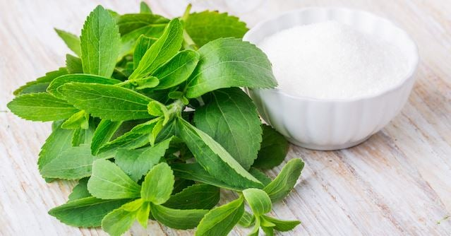 ¿Son beneficiosos los productos con stevia?