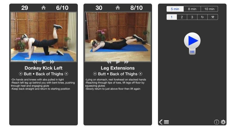 App Daily Butt Workout.