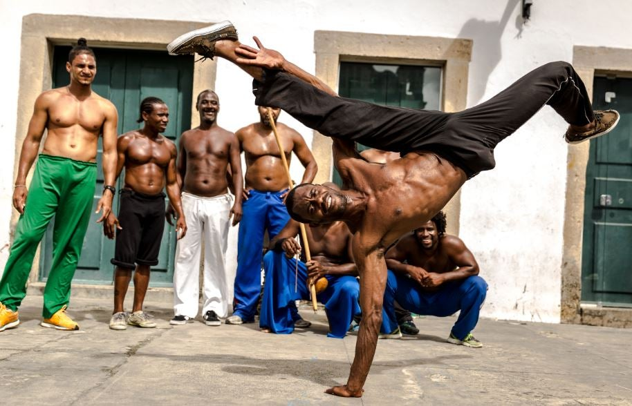 Beneficios de la capoeira.