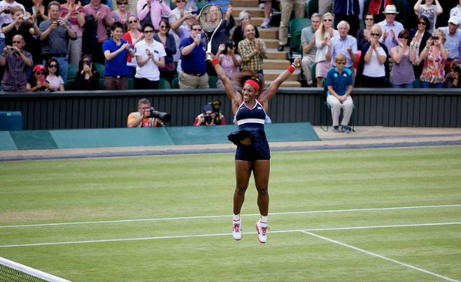 Victoria de Serena Williams.