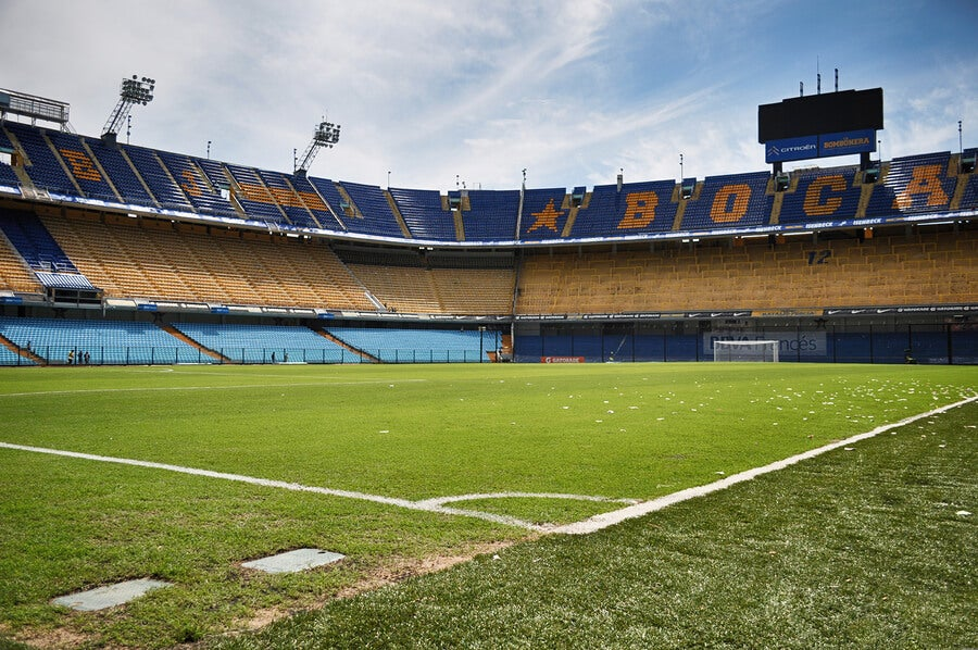 La Bombonera del Boca Juniors, un estadio que late