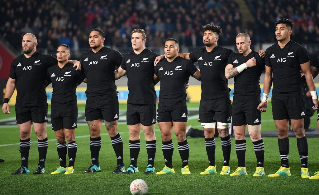 Los All Blacks son una de las potencias del rugby mundial.