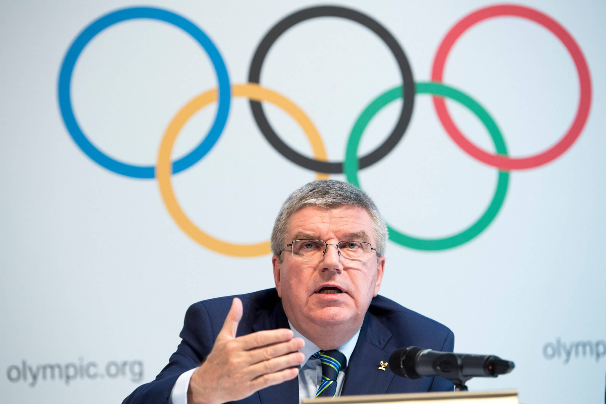 Thomas Bach, el actual mandamás del COI.