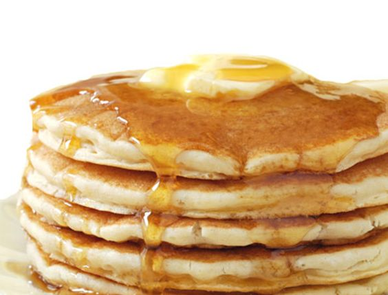 Receta tortitas calientes (hot cakes)