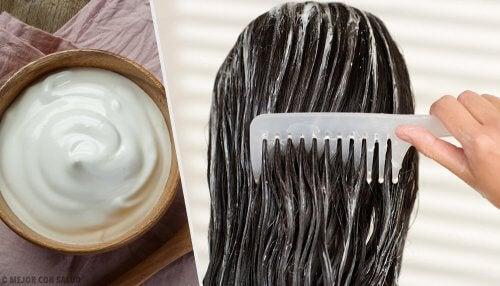 Mascarilla natural y casera de aguacate para el tratamiento del pelo dañado