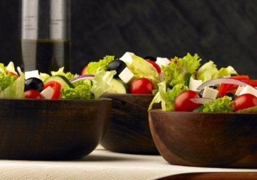 Deliciosa ensalada griega