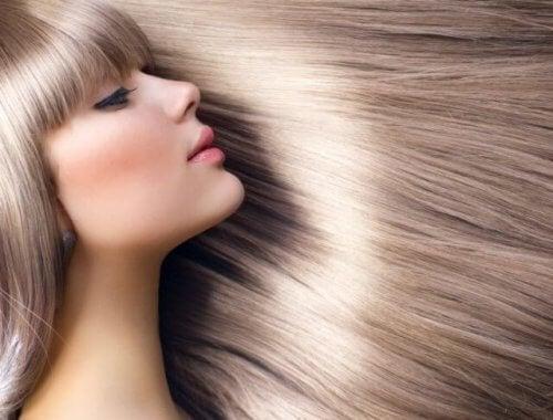 Результат более светлых волос при использовании домашних рецептов