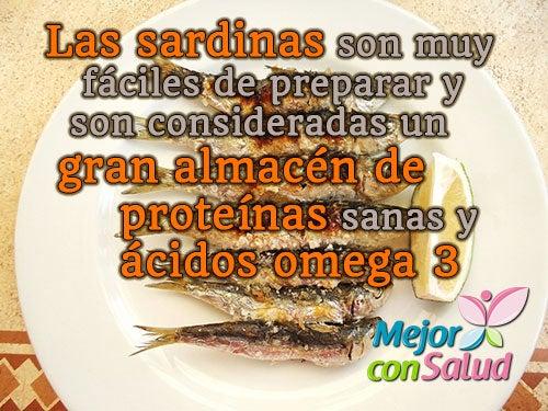 Las sardinas y sus propiedades