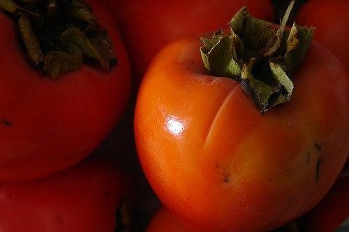 El caqui, fuente de antioxidantes