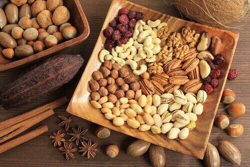 frutos secos recomendados para bajar de peso