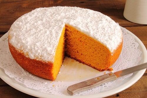Receta de la tarta de zanahoria