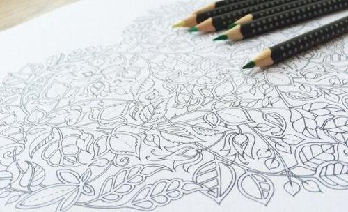 Dibujos hechos con lapices