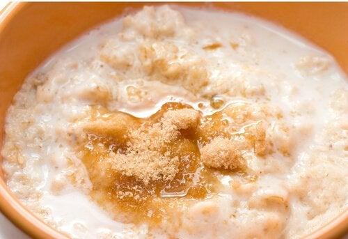 Crema de azúcar y avena