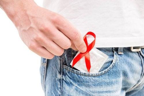 El preservativo para el SIDA