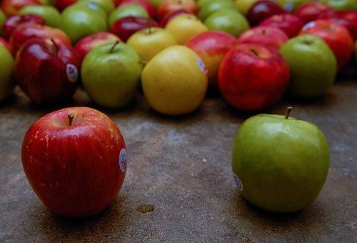 manzanas para calmar la ansiedad a la hora de hacer dietas