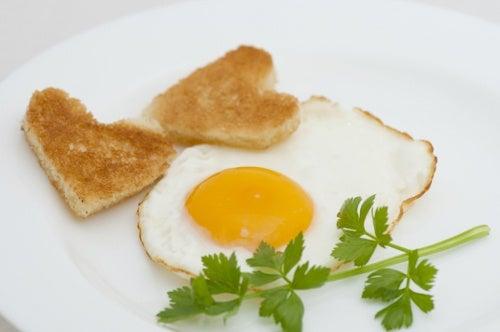 Huevo para el ácido úrico