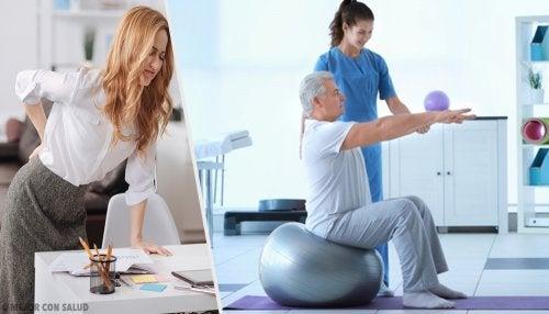 Masaje con pelota de tenis para el dolor del nervio ciático