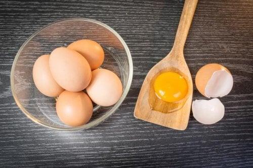 El huevo en las dietas para adelgazar