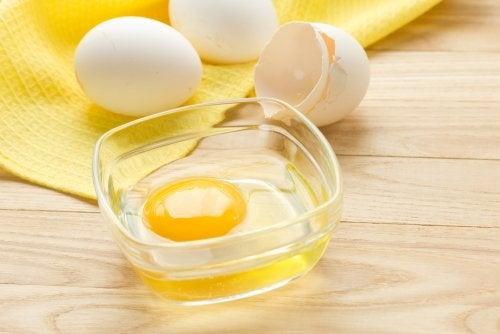 Proteínas de los huevos