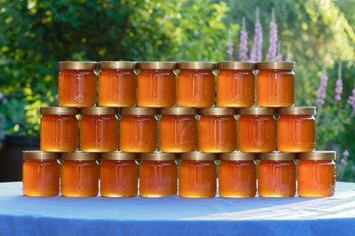 Tarros con miel