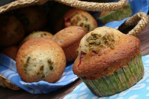 Muffin de harina de teff