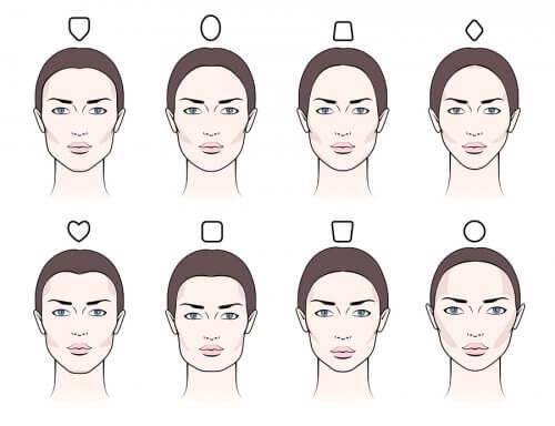 Cejas según el tipo de rostro