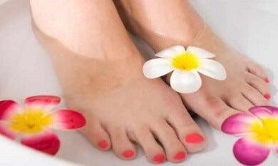Baños de los pies