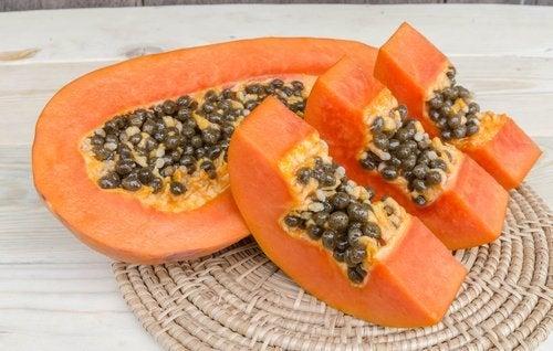 Las propiedades de la papaya