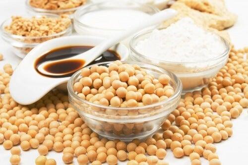 Soya y derivados aportan colágeno a la piel