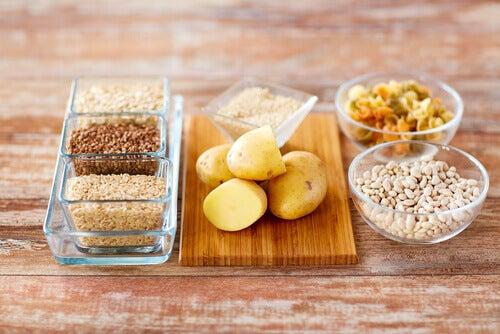 Variedad de carbohidratos