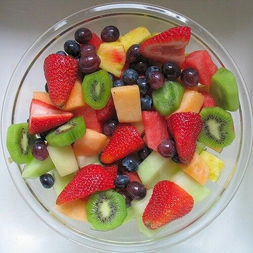 Frutas para la salud de la piel del rostro