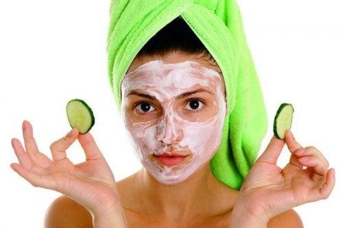 Mascarilla para la piel del rostro