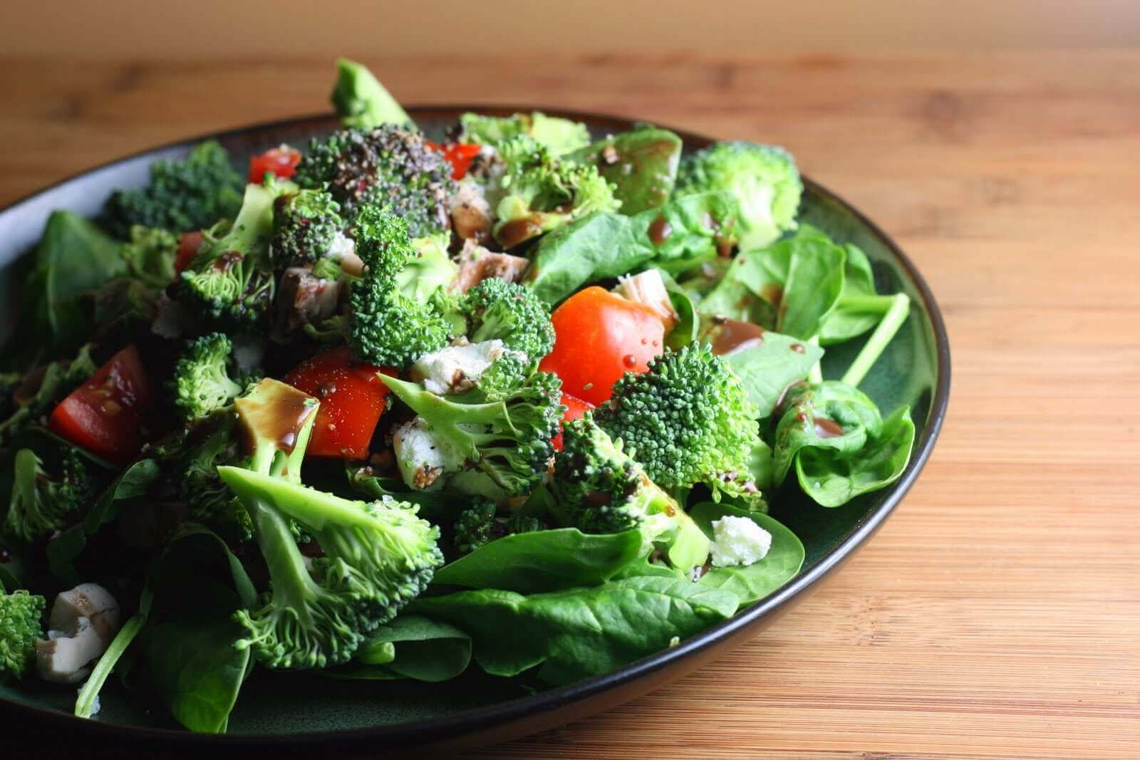 Ensalada de brocoli.