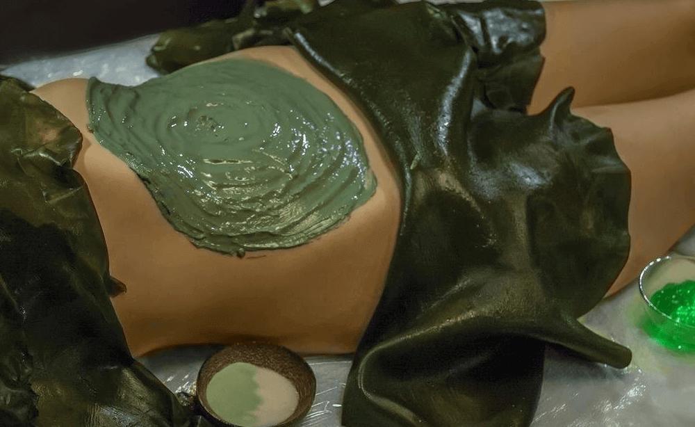 Algas para la piel