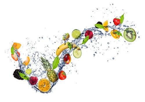 Frutas y verduras: alimentos ricos en agua