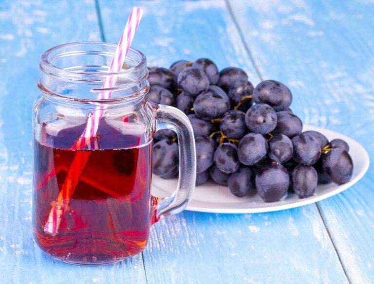 6 beneficios que desconocías del jugo de uva
