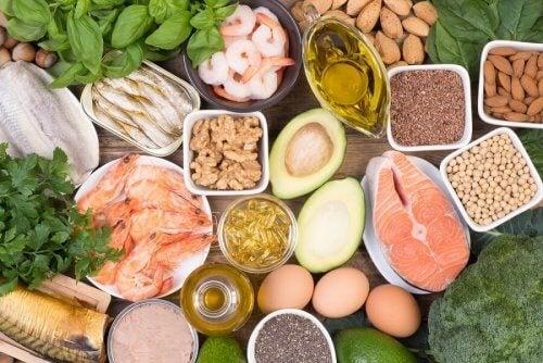 Comida rica en ácidos grasos omega 3