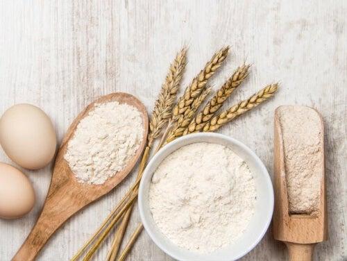 ¿Hay demasiados alimentos con harinas blancas en tu dieta?