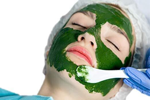 Mascarilla de algas para la piel