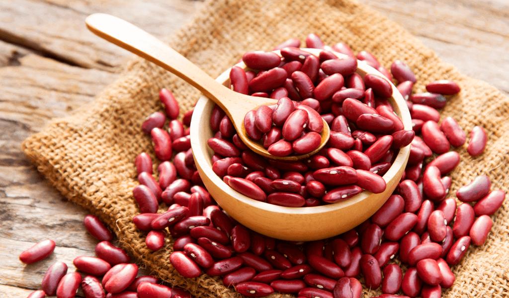 Frijoles rojos, alimentos no lácteos que contienen calcio