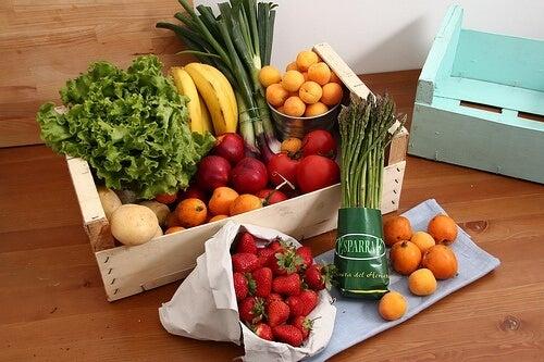 Alimentos sanos y naturales
