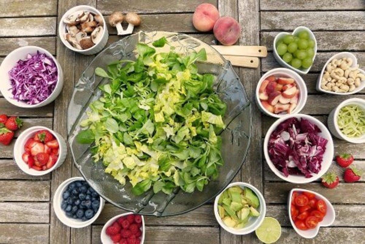 ensaladas saludables para. cuidar la diabetes