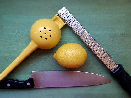 limón rallado