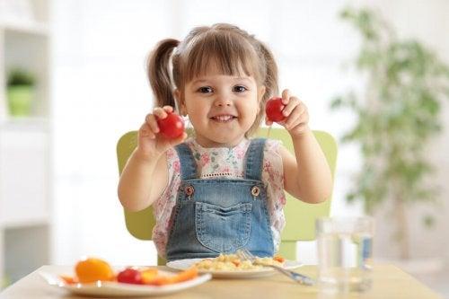 Alimentación saludable para niños: una cuestión de sentido común