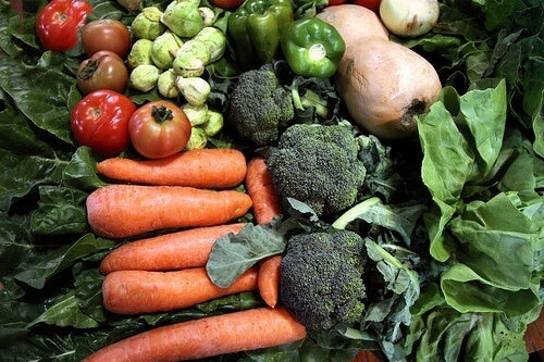 Todos los beneficios de una dieta vegetariana