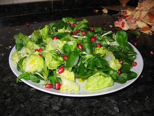 Ensaladas sencillas y saludables para una alimentacion sana