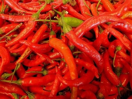 Razones para comer pimienta de Cayena