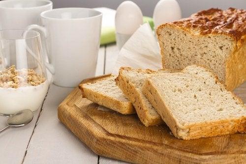 Amaranto en el pan