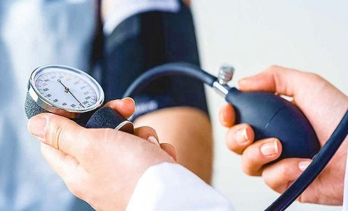 Medición de presión arterial