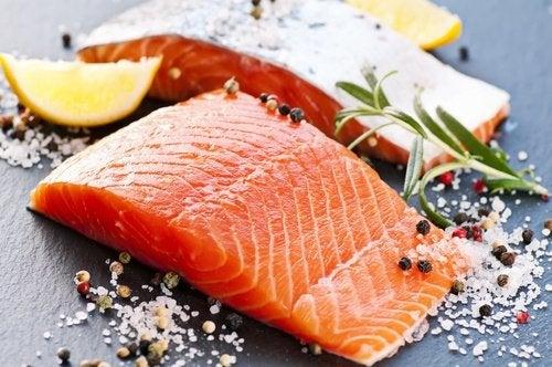 Beneficios del consumo del salmón